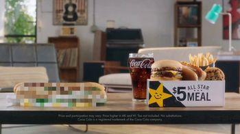 Carl's Jr. $5 All Star Meal TV Spot, 'Guillotine'