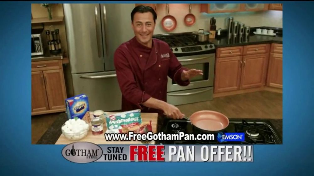Gotham Steel Tv Commercial Cooking On Air Free Pan