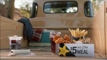 Carl's Jr. $5 All Star Meal TV Spot, 'Diesel and Sadness'