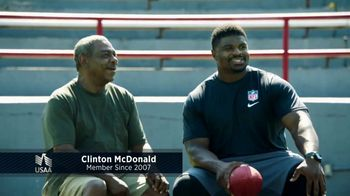 USAA TV Spot, 'USAA Member Voices: Clinton McDonald'