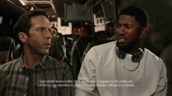 T-Mobile One TV Spot, 'Team Bus: Unlimited' Featuring Dexter Fowler
