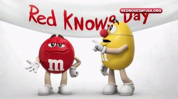 M&M's TV Spot, 'Red Nose Day' - 3 commercial airings