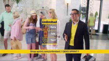 Sprint Unlimited TV Spot, 'Hotel Lobby'