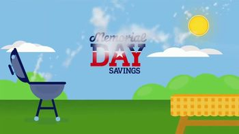 Lowe's Memorial Day Savings TV Spot, 'Paint, Exterior Stains and Mulch'