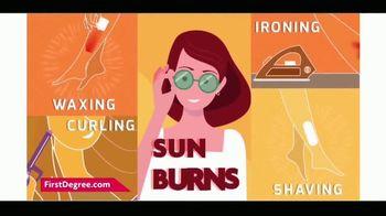 First Degree Maximum Strength Burn Cream TV Spot, 'Burns Happen'