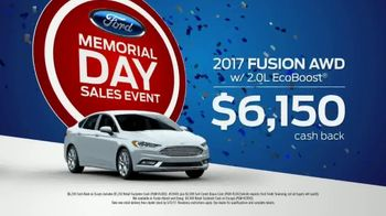 Ford Memorial Day Sales Event TV Spot, 'Cars and Utilities'