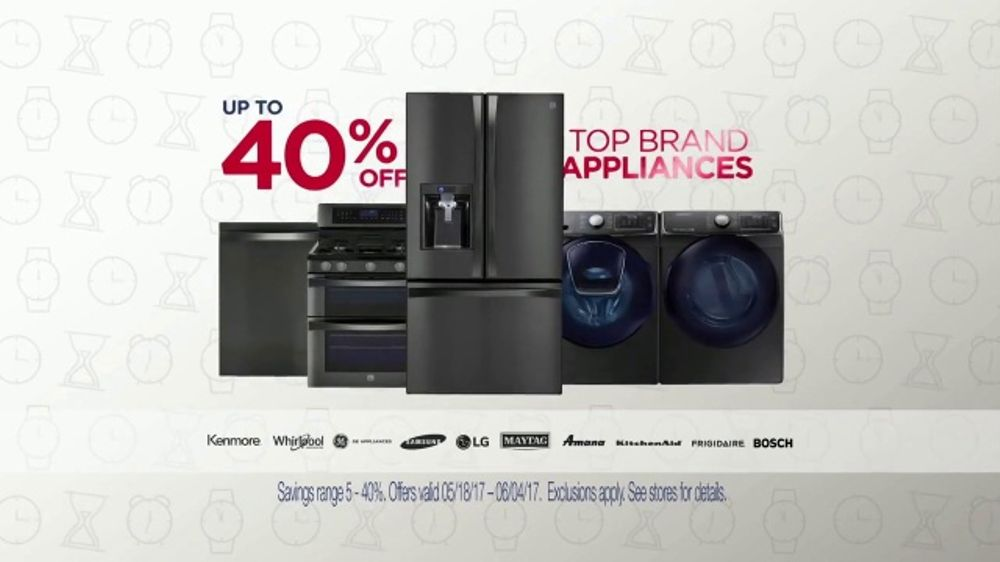 Sears Memorial Day Event Tv Commercial Home Appliances