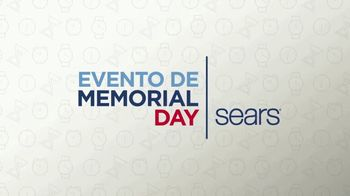 Sears Evento de Memorial Day TV Spot, 'Electrodomésticos' [Spanish]