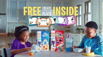 Kellogg\'s TV Spot, \'Despicable Me 3 Create-a-Plate\'