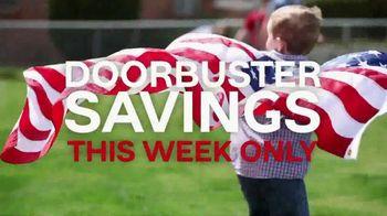 Ashley HomeStore Memorial Day Event TV Spot, 'Doorbusters: Sofa'