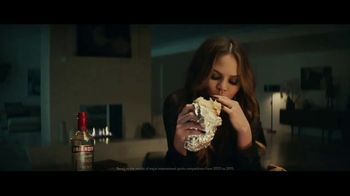 Smirnoff Triple Distilled Vodka TV Spot, \'Chrissy Teigen Craves Burrito\'