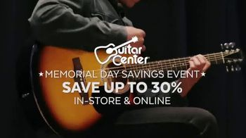 Guitar Center Memorial Day Savings Event TV Spot, 'Piano and Microphone'