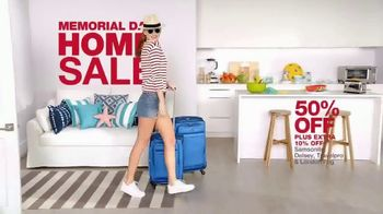 Macy's Memorial Day Home Sale TV Spot, 'Luggage and Kitchen Essentials'