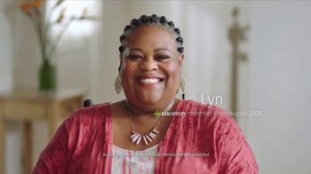 AncestryDNA TV Spot, 'Lyn Discovers Her Ethnicity Discoveries'