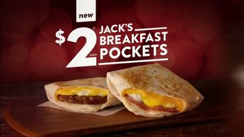Jack in the Box Breakfast Pocket TV Spot, 'Melty Cheeses'
