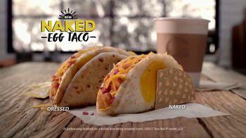 Taco Bell Naked Egg Taco TV Spot, 'Dream Breakfast' - Thumbnail 9