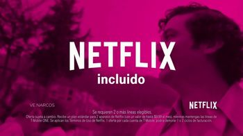 T-Mobile Unlimited TV Spot, 'T-Mobile + Netflix' [Spanish]