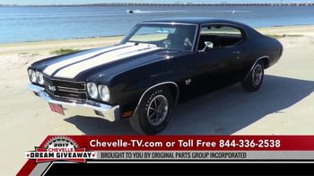 2017 Chevelle Dream Giveaway TV Commercial, 'Charitable Donation' - Video