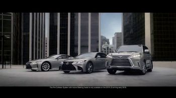 Lexus TV Spot, 'Safety System: A World Without Accidents'