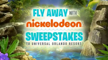 Fly Away With Nickelodeon Sweepstakes TV Spot, 'Experience of a Lifetime'