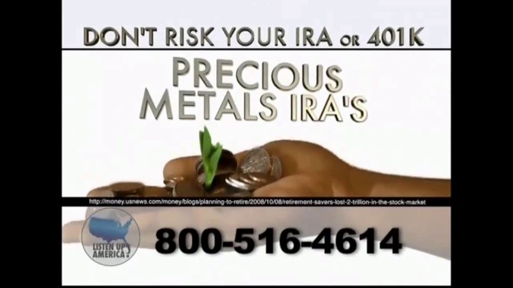 Listen Up America Ira Or 401k Investments on Colonial Penn Life Insurance