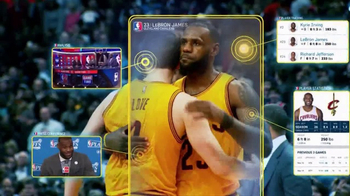 NBA App TV Spot, 'A Gift Sought by Many' Featuring LeBron James - Thumbnail 8