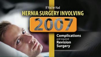 Gold Shield Group TV Spot, 'Hernia Surgery Complications'