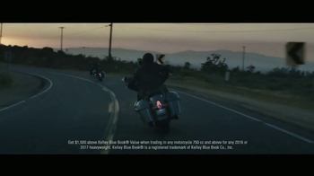 Indian Motorcycle The Road is Calling Sales Event TV Spot, 'Legend'