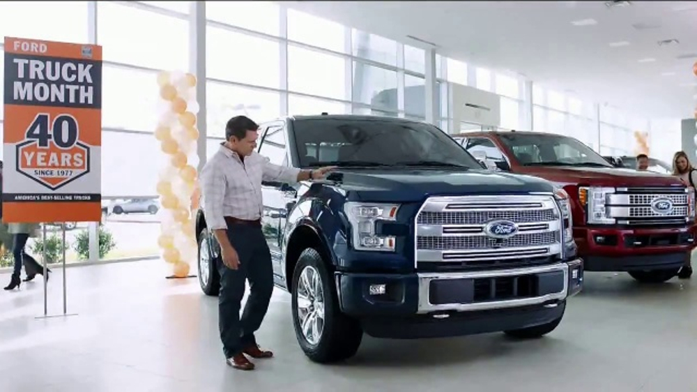 Used 2016 Ford Explorer >> Ford Truck Month TV Commercial, 'Imagine: 2017 F-150 XLT' - iSpot.tv