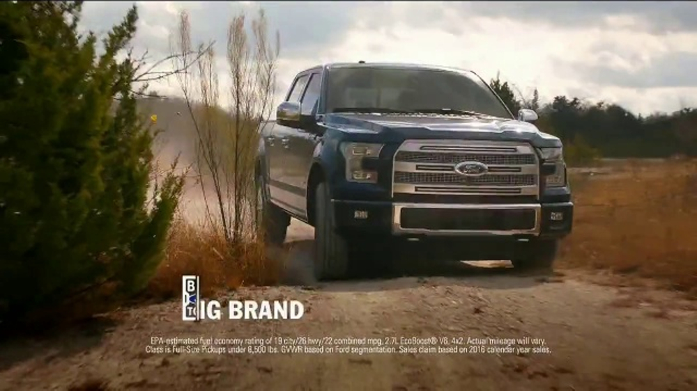 Build Your Own Ford >> Ford Truck Month TV Commercial, 'Imagine: 2017 F-150 XLT ...