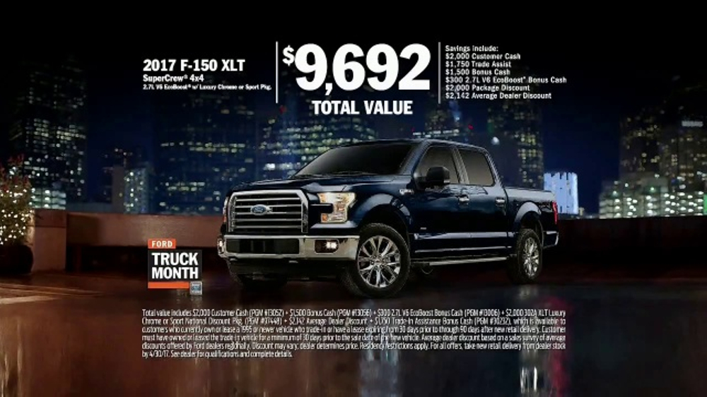 Used Car True Car >> Ford Truck Month TV Commercial, 'Imagine: 2017 F-150 XLT' - iSpot.tv