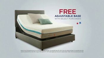 half off 3e75c 82186 Mattress Firm 4th of July Sale TV Commercial, 'Free ...