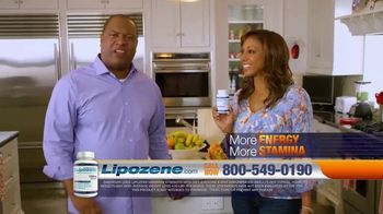 Lipozene TV Spot, 'Favorite Foods' Feat. Holly Robinson Peete, Rodney Peete