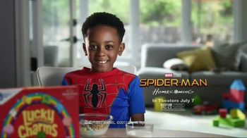 General Mills TV Spot, 'Spider-Man: Homecoming: Practice' - 1384 commercial airings