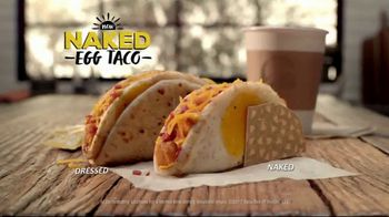 Taco Bell Naked Egg Taco TV Spot, 'What The Shell?' Feat. Stephen A. Smith - Thumbnail 8