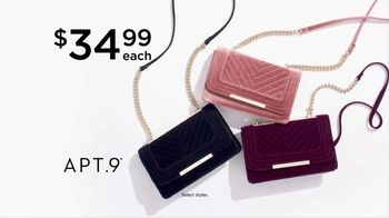 Kohl's Fall Style Event TV Spot, 'Apparel, Shoes and Handbags'