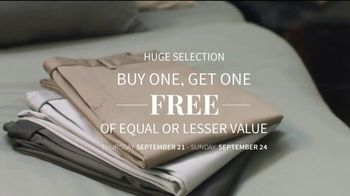 JoS. A. Bank Buy One, Get One Free Sale TV Spot, 'Pack for Any Occasion'