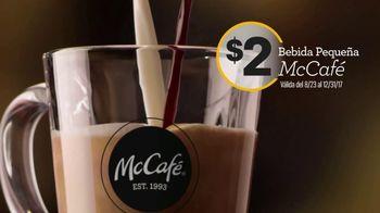McDonald's McCafé TV Spot, 'Nada viene antes del café: ahorita' [Spanish]