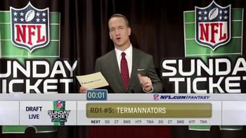 DIRECTV NFL Sunday Ticket TV Spot, 'The Commish' Featuring Peyton Manning - Thumbnail 5