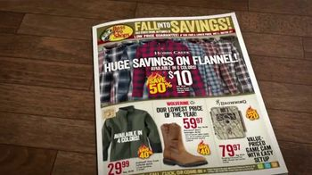 Bass Pro Shops Fall Into Savings TV Spot, 'Take Advantage'