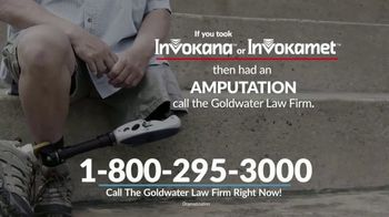 Goldwater Law Firm TV Spot, 'Diabetes Medications'
