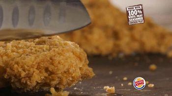Burger King Crispy Buffalo Chicken Melt TV Spot, 'Juicy on the Inside'