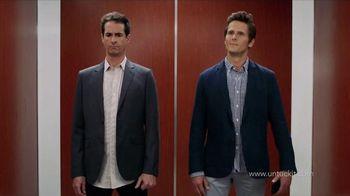UNTUCKit TV Spot, 'Elevator: Dress Shirt'