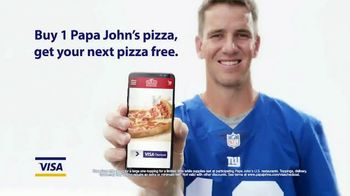 VISA Checkout TV Spot, \'Papa John\'s Pizza\'