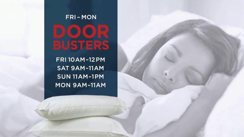 mattress firm labor day sale tv commercial 39 huge doorbuster deals 39. Black Bedroom Furniture Sets. Home Design Ideas
