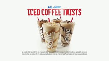Sonic Drive-In Signature Drinks TV Spot, 'Sommelier: Iced Coffee Twists' - Thumbnail 7