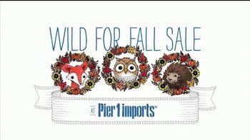 Pier 1 Imports Wild for Fall Sale TV Spot, 'Cozy, Crisp & Colorful'