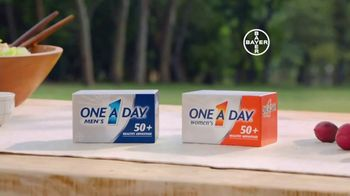 One A Day 50+ Healthy Advantage TV Spot, 'Outdoor Cooking' - Thumbnail 7