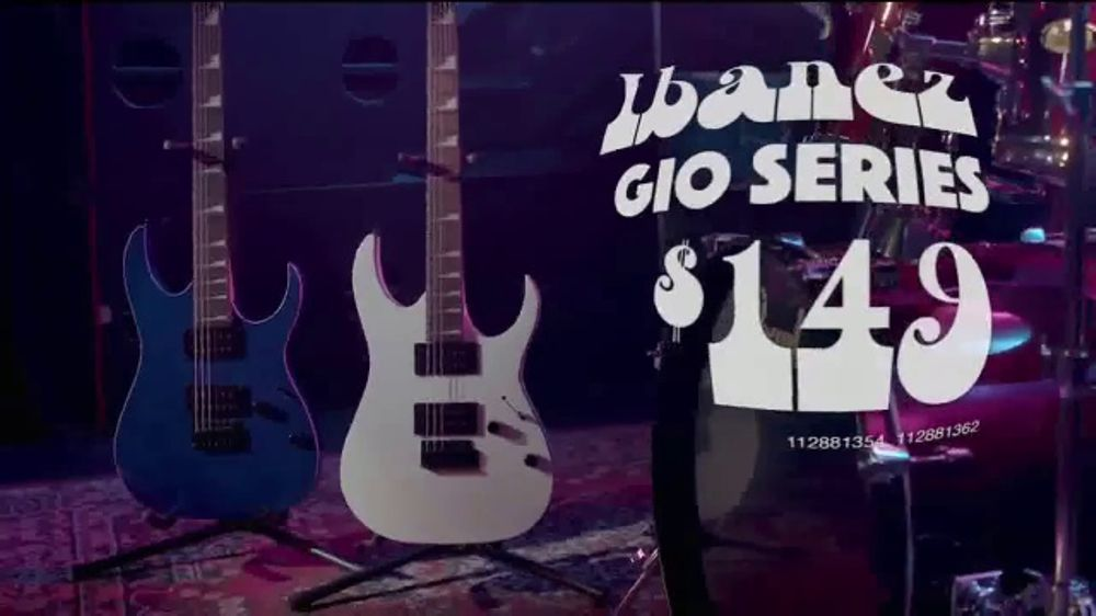 guitar center labor day savings event tv commercial 39 band gear 39. Black Bedroom Furniture Sets. Home Design Ideas