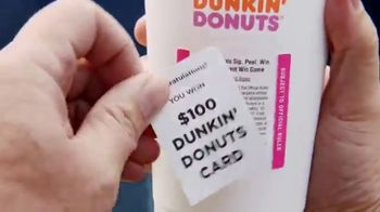 Dunkin' Donuts Sip Peel Win TV Spot, 'This Is Coffee' Ft. Odell Beckham Jr. - Thumbnail 2